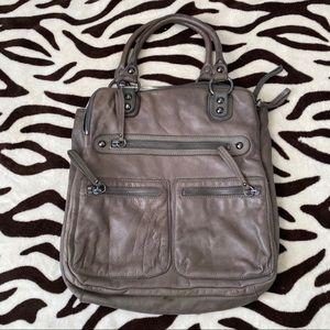 LINEA PELLE Dylan vintage tote handbag